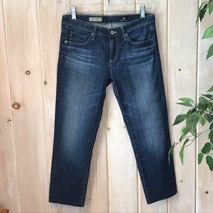 AG Stevie ankle lightweight jeans